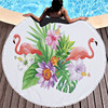 Round Patterned Beach Towel - Cover-Up - Beach Blanket 24