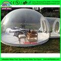 ПВХ Пузырь Надувная Палатка, прозрачный Открытый Одного Туннеля Палатки Кемпинга, Ясно, Надувные Газон Палатка