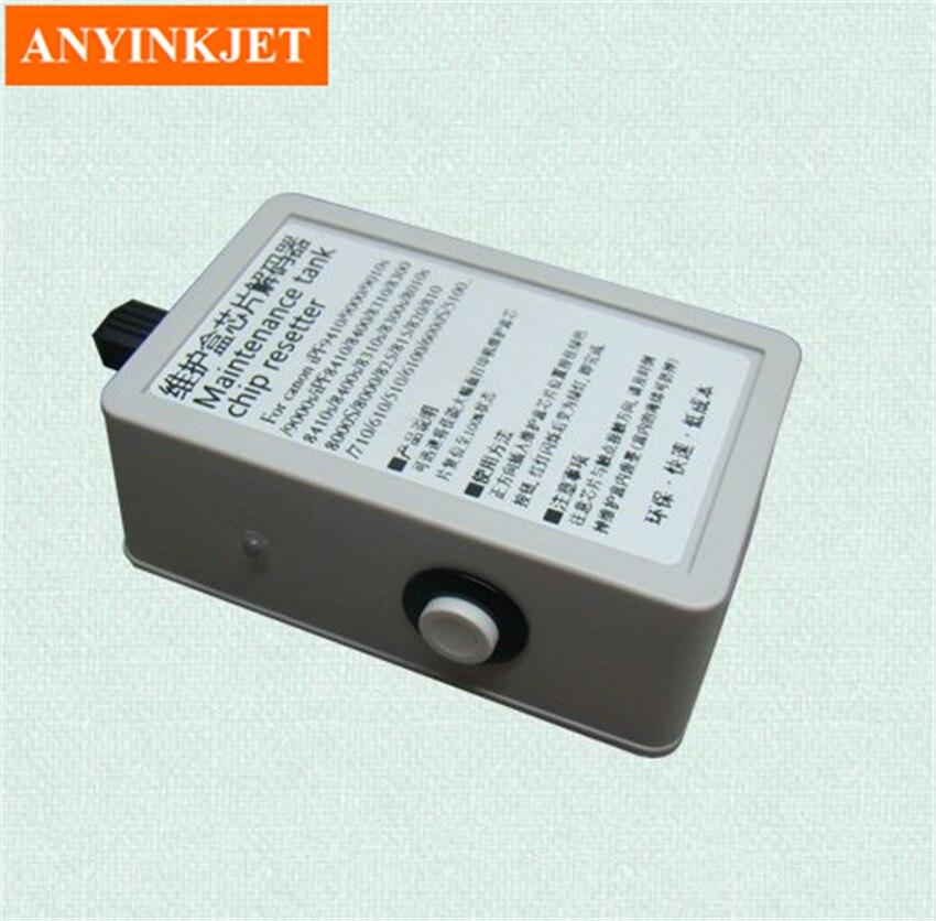 MC-08 техническое обслуживание ёмкости для чипа resetter для iPF8000 IPF9000 iPF6000 iPF8400 и т. д. серии графический принтер