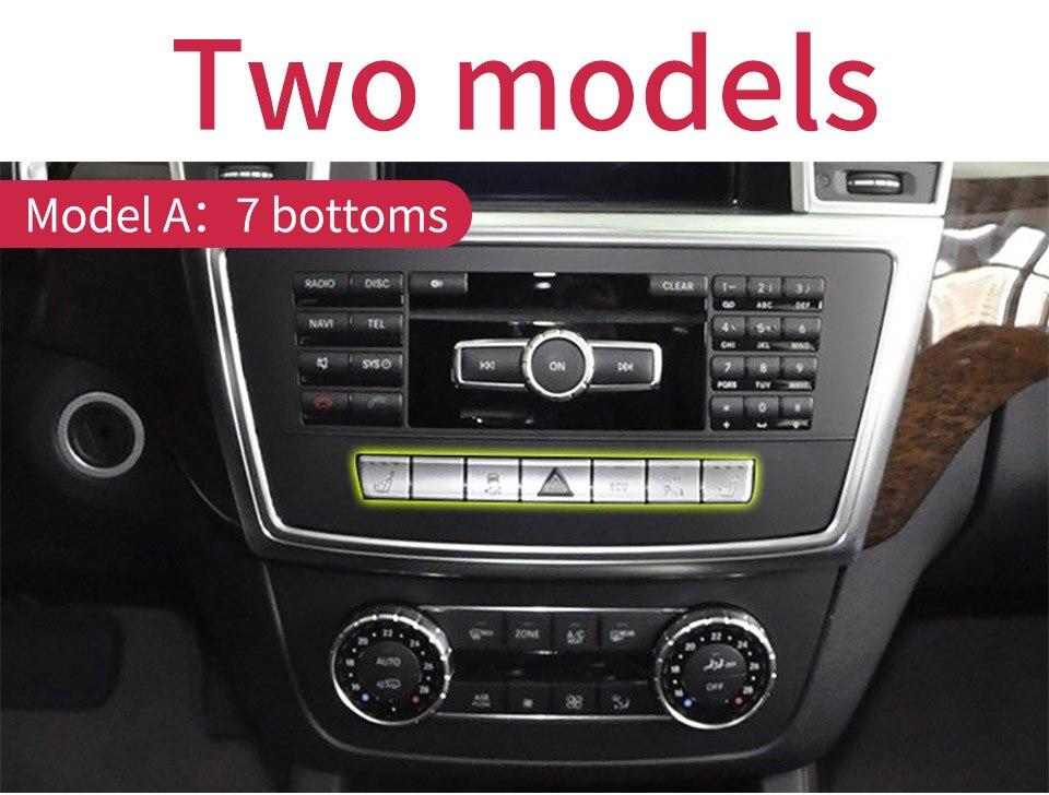 Electronic handbrake Decorative Cover trim For Benz ML W166 //GL X166 2012-2015