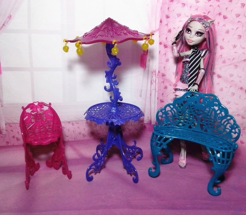 1 2 ... & 2017 New Arrival Fashion Set Furniture for Monster high Doll ( Couch ...