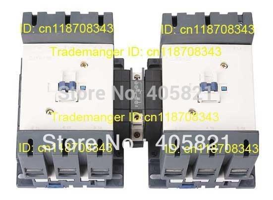 CJX2-115N Mechanical Interlocking Contactor 115A cjx2 115n mechanical interlocking contactor 115a