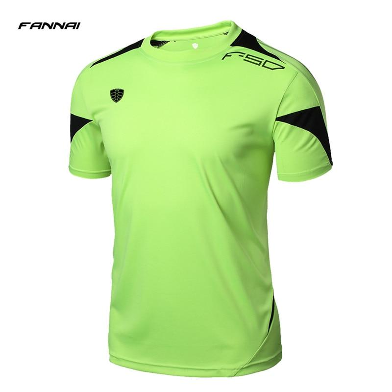 FANNAI Brand Men Tennis Shirt Summer Outdoor Sports Workout Running Quick-Dry Male T Shirts Short-sleeve Tees Tops Clothing