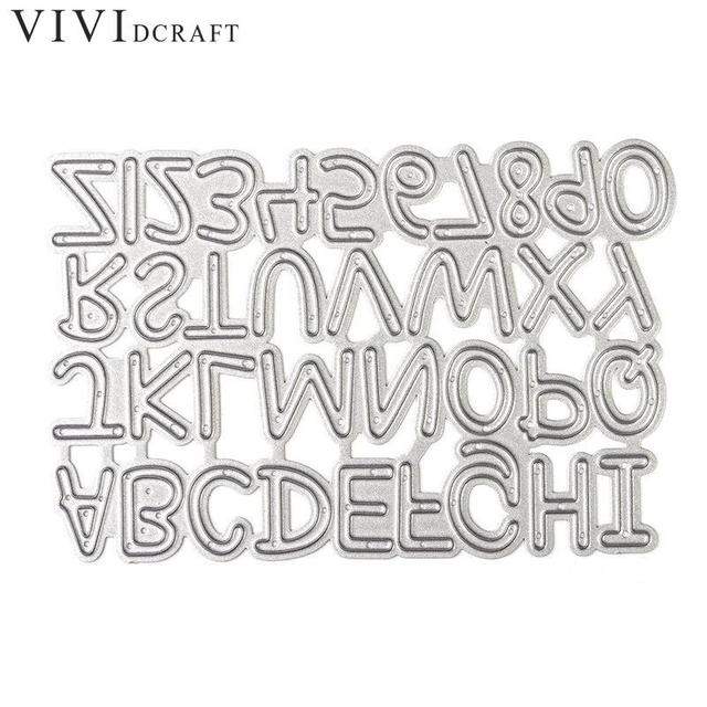 alphabet letter number set metal cutting dies stencils for diy scrapbooking album embossing diy alphabet letter