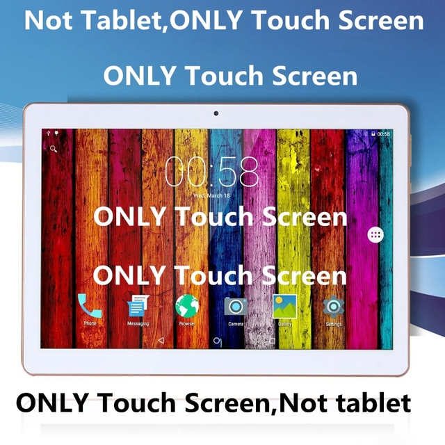 """New 10.1"""" Touch Screen For BDF MTK 6580 Quad Core Tablet Touch Screen Touch Panel digitizer Glass Sensor Replacement"""