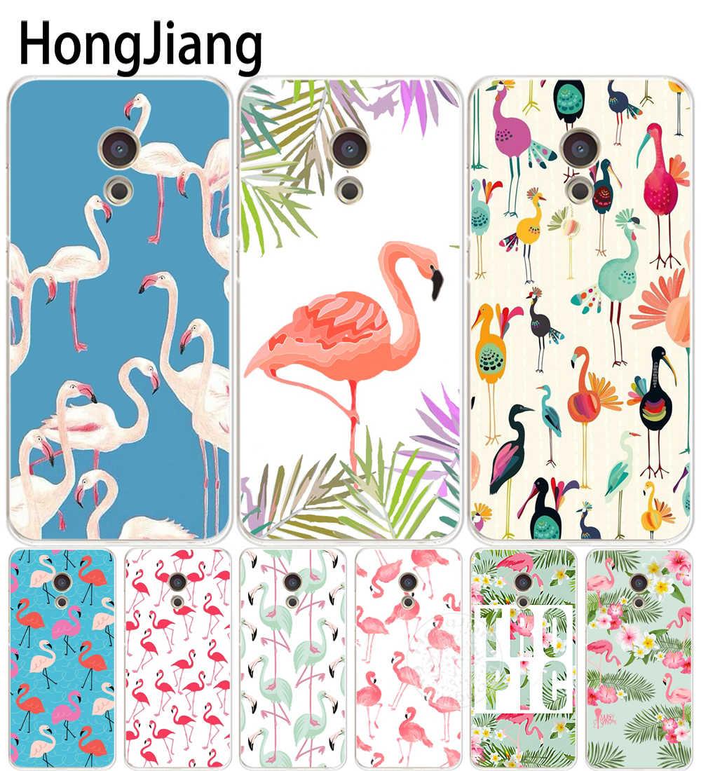 HAMEINUO labios Flamingo cubierta del teléfono para el Meizu M5 M5S M6 M2 M3 M3S MX4 MX5 MX6 PRO 6 5 u10 U20 nota plus