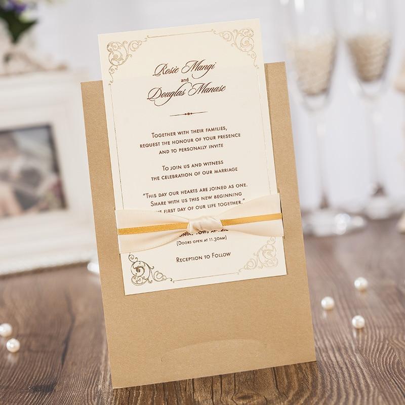 Luxury Laser Cut Wedding Invitation Card, Business Invitation ...