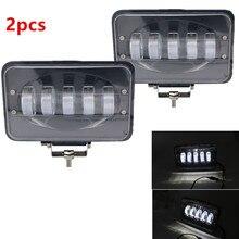 Marloo 6 Cal 50W LED światło robocze reflektor 12V 24V plac Offroad reflektor roboczy dla Off samochód Pickup Wagon motocykl ciężarówka nowy