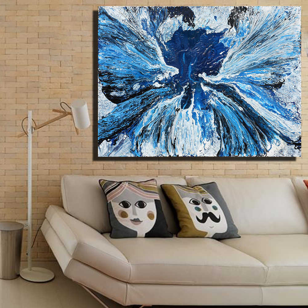 The Flood painting Canvas Prints Picture Office Decoration Oil Painting Modern Canvas Paintings Wall Art Frameless