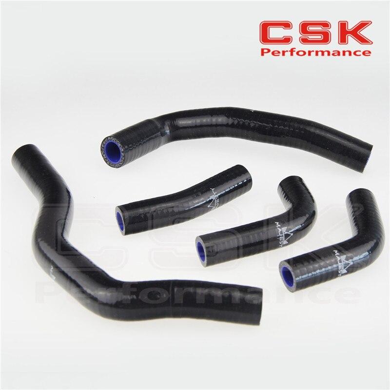 Силиконовый радиаторный шланг для Honda CRF450 CRF450R 2006-2008 07 08 09 черный