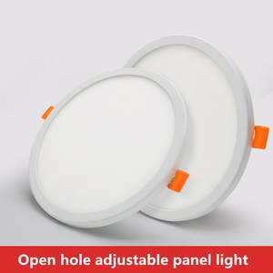 Panel-Light Ceiling-Recessed-Downlight 85-265V Round Adjustable Ultra-Thin led Cold-White