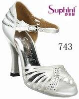 Free Shipping Hot Sale Woman Wedding Bridal Shoes White Latin Salsa Dance Shoes