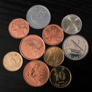 10 монет из 10 разных стран, НАСТОЯЩИЕ Оригинальные монеты, страна, коллекционные предметы, Европейский, Азиатский, Африканский, американский ...