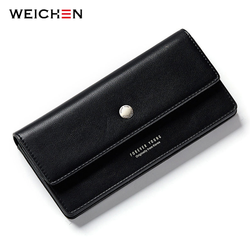 2018 New Came Female Long Standard Wallet PU Leather Women Clutch Wallets Coin Change Phone Purse Cash Card Holder Lady Carteras new baellerry pu leather women organizer long wallet bowknot money purse ladies coin phone clutch hand bag card holder pouch box