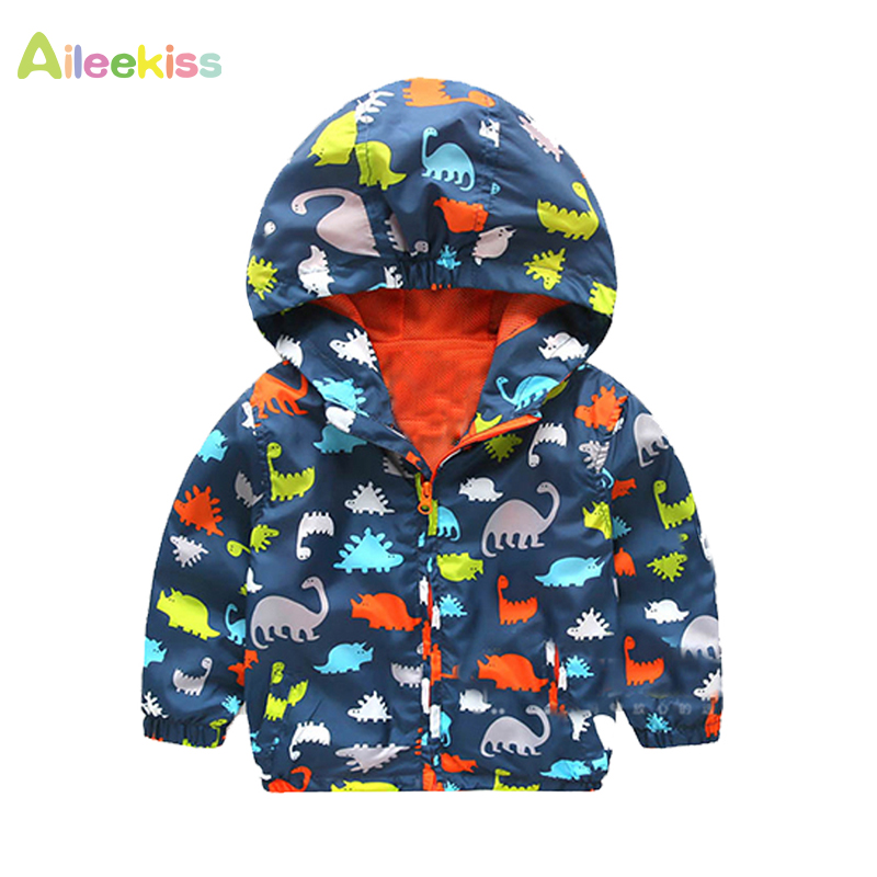 Hot New Spring Autumn Long Sleeve Kids Jacket Casual Outerwear Coats Boys Kids Baby Windbreaker Hooded Children Clothing Ys212