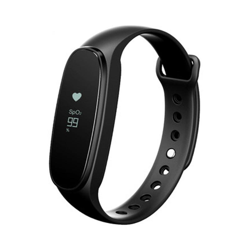 Prix pour D'origine bong 3 rh de la fréquence cardiaque moniteur bracelet sommeil tracker oxymétrie bracelet sport smartband ip67 pour meizu m3 mini mobile