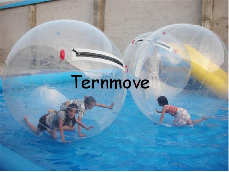 Transparent Marche De L'eau Boule, Zorbing Boules De L'eau pour piscine, marche Rouleau Balle, d'importation aqua bal pour Enfants et Adultes