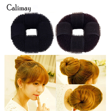 1pcs Hair braider for jenter kvinner hår styling Doughnut Tidligere Foam Fransk Twist Magic Hair Bun Svamp Hair Style Braid Tool