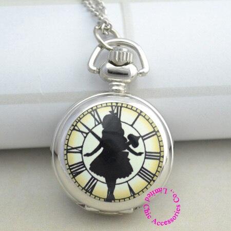 orologio alice nel paese delle meraviglie