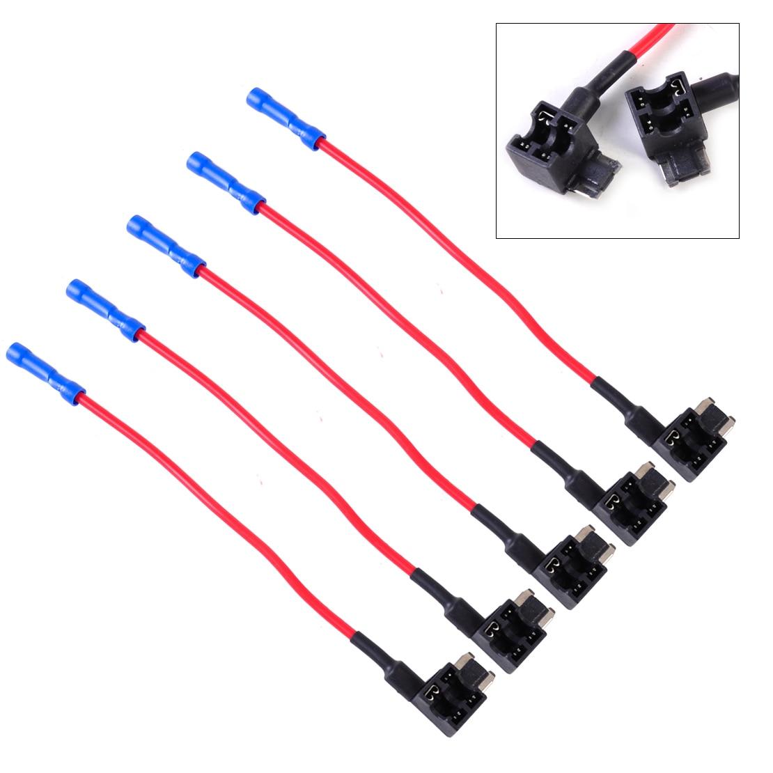 Online Shop beler New 32V Add-A-Circuit Mini Fuse Tap Adapter Holder Low  Profile APS ATT Micro Blade Car Auto 5Pcs/set   Aliexpress Mobile