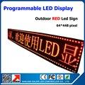 Красный цвет P10 открытый из светодиодов вывеска водонепроницаемый программируемый прокрутки рекламного сообщения бизнес знак для отеля банка