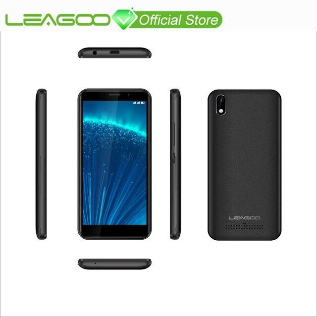 "LEAGOO Z10 Android мобильного телефона 5,0 ""FWVGA + 18:9 Дисплей 1 ГБ Оперативная память 8 GB Встроенная память MT6580M 4 ядра 2000 mAh 2MP Камера 3g смартфон"