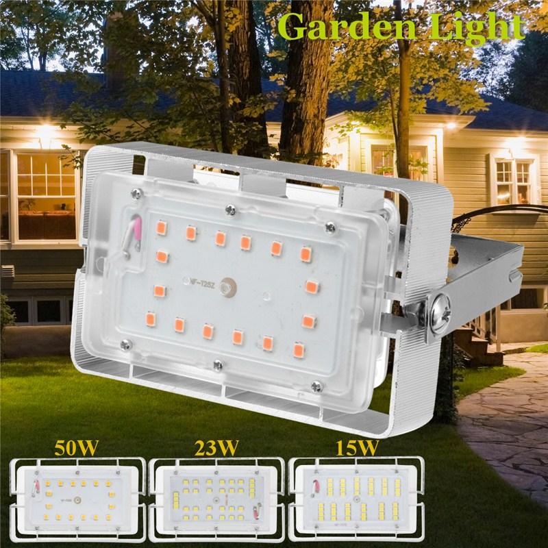 Mising LED Flood Light Projector IP65 WaterProof 15W 23W 50W 220V LED FloodLight Spotlight Outdoor Garden Wall Lamp