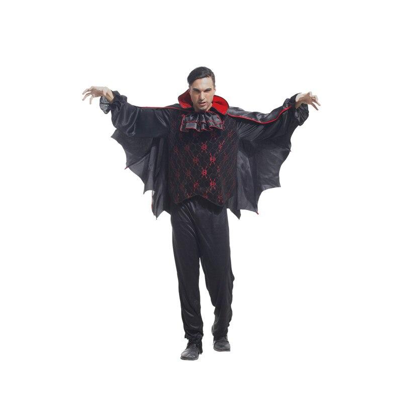 Histoire de Shanghai Costumes de cosplay d'halloween pour hommes légende d'europe médiévale Costume de Vampire uniformes de jeu de Cosplay de Vampire