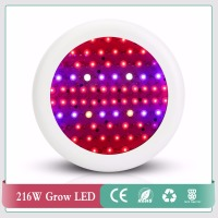 72pcs High Power Full Spectrum 210W UFO Led Grow Light For Plants Flowering Lighting 42Red 12Blue