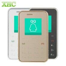Teléfono AEKU i6 1.54 pulgadas Ultra Delgado Niño de Bolsillo Mini Móvil Teclado Táctil del teléfono Solo SIM Tarjeta de Teléfono Celular Teléfono Captura Remota
