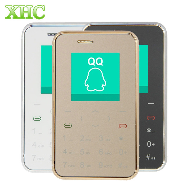 AEKU i6 1.54 inch Ultra Thin Child Phone Pocket Mini Mobile Phone Single SIM Touch Keyboard Card Cell Phone Remote Capture Phone