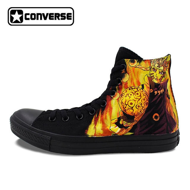 Custom Totem High Top Converse Canvas Shoes by elleflynn on