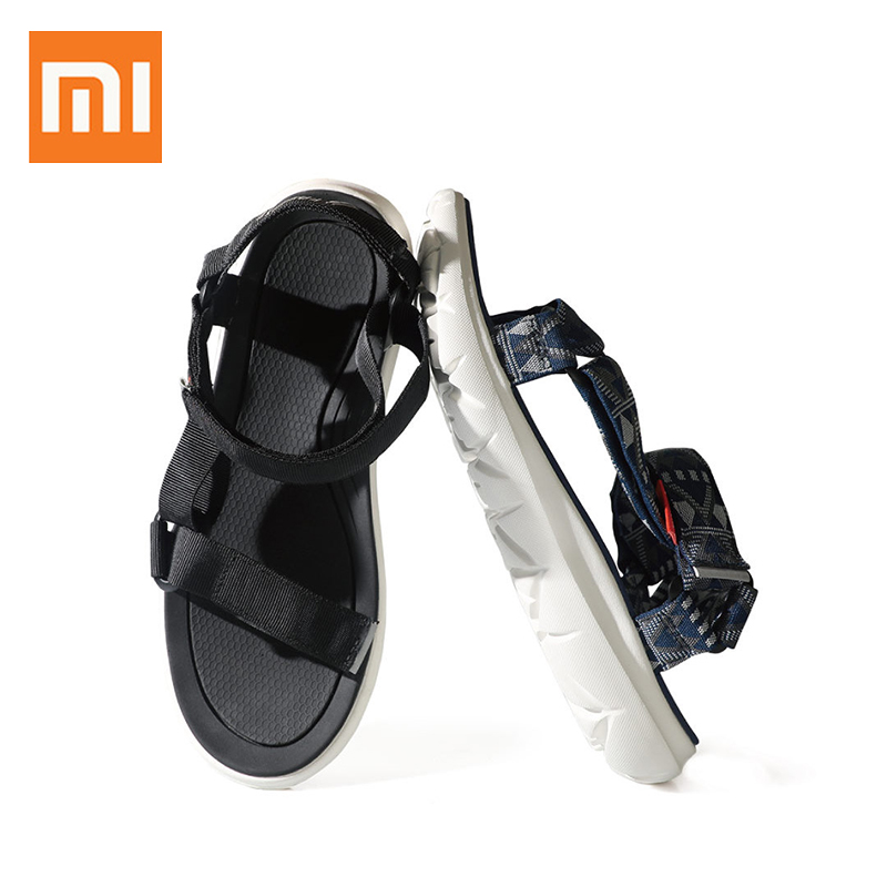 Xiaomi Mijia FREETIE Sandals Curved Magic Belt Non-slip Wear-resistant Free Buckle Sandals Suitable For Spring And Summer(China)