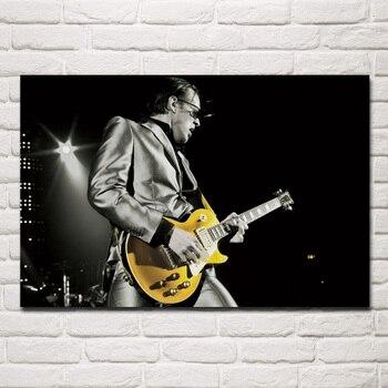 JOE BONAMASSA blues rock roll guitarra guitarras concierto fotografía artística decoración sala de estar decoración de la pared del hogar cartel con marco de madera impresión ex413