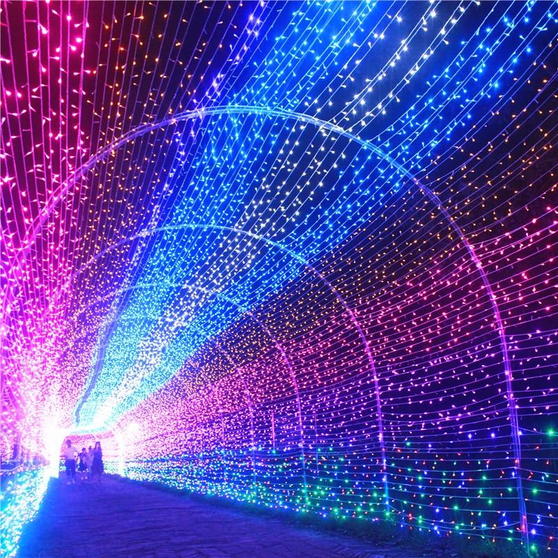Fesztivál Led String Light 10M 20M 30M 50M 100M Vízálló Strip - Üdülési világítás - Fénykép 3