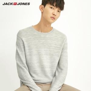 Image 5 - JackJones גברים של Slim Fit צמר סוודר מזדמן ארוך שרוול סוודר גברים של למעלה 218324521