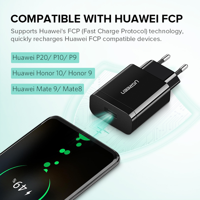 3.0 18 W USB Adapter for Fast Phone Charging