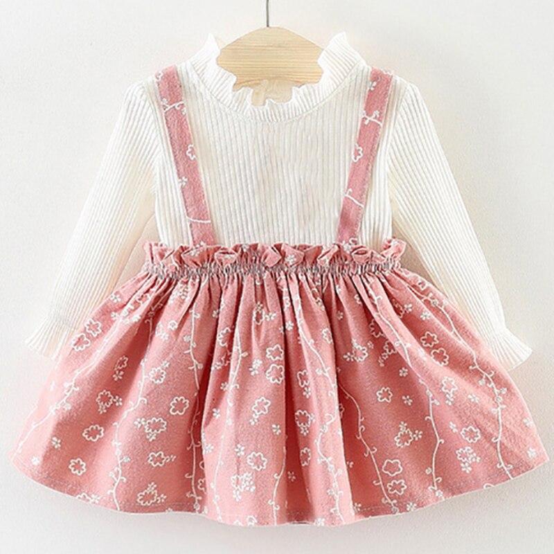 76503b95 Cheap Ropa de bebé niña de Primavera de 2019 nuevo chico ropa de manga  larga T