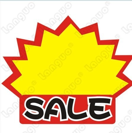 Selll Pop Price Tag Supermarket Explosion Price Label Pop