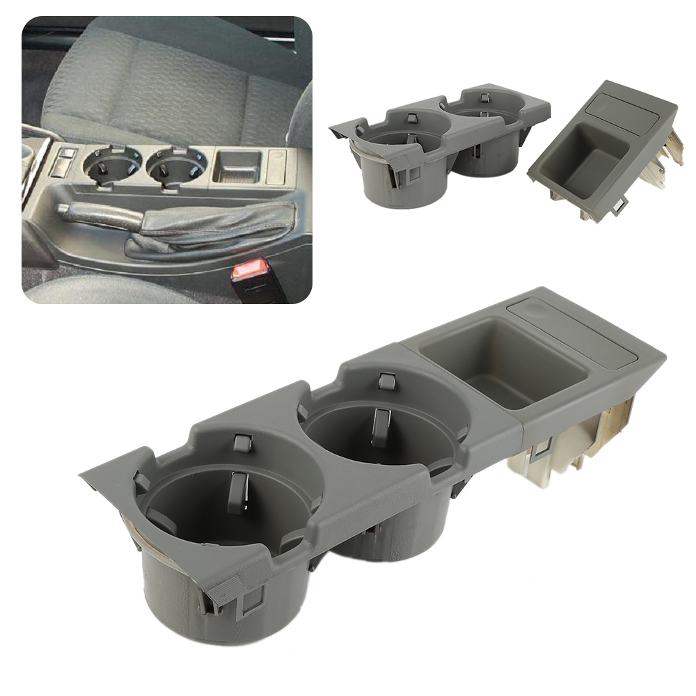Genuine BMW Front Center Console Drink Cup Holder with Coin BOX E46 3 Series