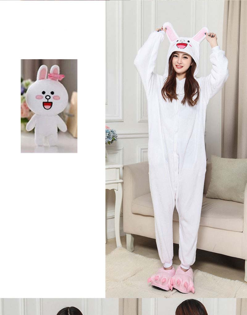 4Kigurumi Brown Bear Onesie Slippers Women Men Adult Animal Costume Cartoon Pajama Funny Festival Party Fancy Suit  (4)