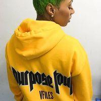 Bieber straat Mannen Hiphop Hoodie Mannen Merk Print Kanye West Hooded Sweatshirt 2017 Nieuwe York Dikke Merk Hoodies liefhebbers vrouwen