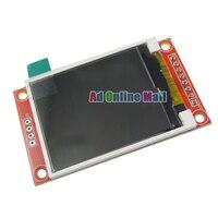 10 шт./лот 1,8 дюймов TFT сенсорный ЖК-дисплей Экран модуль SPI последовательный 51 драйверы 4 драйвера ввода/вывода на тонкопленочных транзистора...