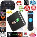 2016 Mais Novo A96X 1 GB/8 GB Amlogic S905X Android 6.0 Caixa de TV Quard núcleo 2.4G Wifi Full Loaded Miracast Media Player Set Top Box