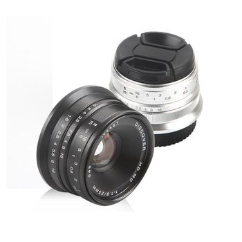 25mm F/1.8 HD MC Manual Focus Wide Angle Lens for Fujifilm FX Camera X-T10 X-T2 X-PRO2 X-PRO1 X-E2 X-E1 X-M1 X-A3 X-T1 X-A2