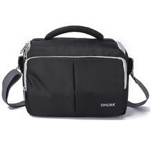 New High Quality Black Photography DSLR font b Camera b font Backpack Waterproof font b SLR