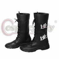 Lucis Caelum Shoes Cosplay Final Fantasy XV Adult's Leather Shoes Boots Cosplay Accessary for Carnival Party