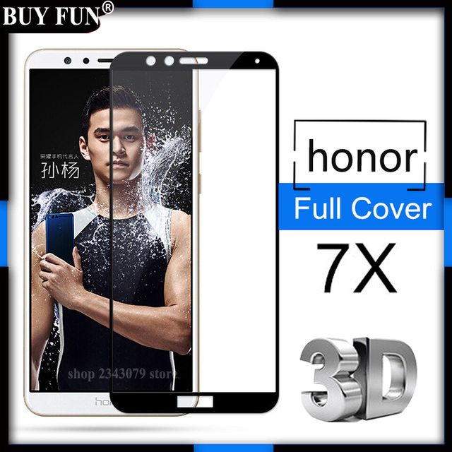 For Huawei honor 7x glass tempered For huawei honor 7 x X7...