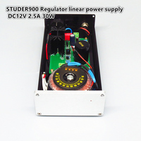 STUDER900 Regulator linear power supply DC12V 2.5A 30W DAC Audio Decoder Professional Power Adapter