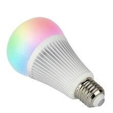Milight YB1 9 Вт RGB + CCT Wi-Fi светодио дный лампы 2.4g беспроводное устройство светодио дный лампы 2700 К-6500 К затемнения 2 В 1 Smart Ми-свет светодио дный свет AC100-240V